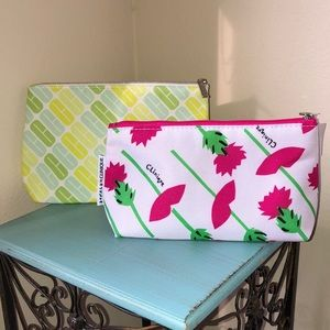 Two New Clinique Makeup Bags